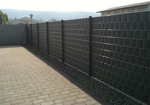 Sichtschutz-Zäune