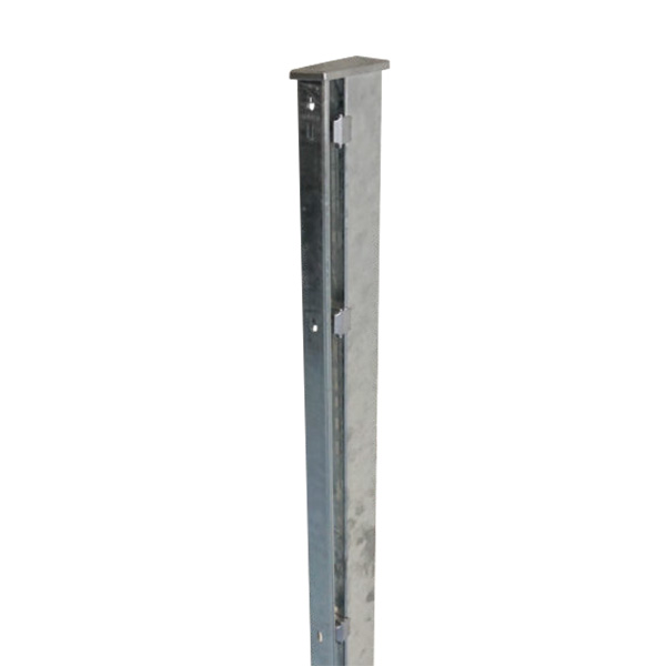 Doppelstabmattenzaun-Set PRO LIGHT verzinkt 203cm hoch 25m lang Bild 4